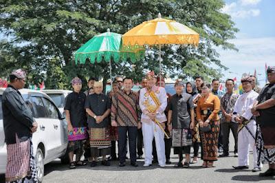 Hadiri Darma Santi Nyepi Tahun Saka 1941, Gubernur Ridho : Kedepan Akan Ada Penerbangan Singapura - Lampung - Bali