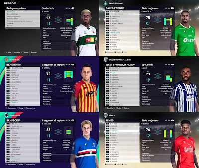 New faces by Unknown Facemaker. This face also works with PES 2021 & PES 2020 PC Version.