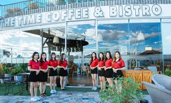 Đồng phục nhân viên cafe The TIME Coffee & Bakery