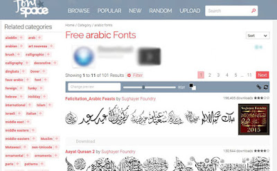 http://www.fontspace.com/category/arabic