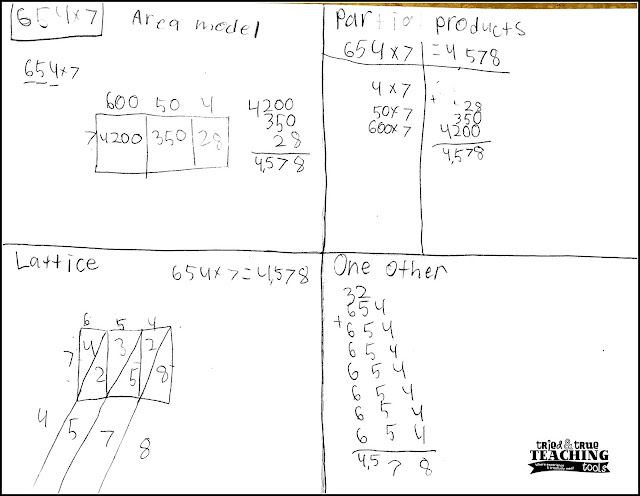 Multiplication Worksheets  Partial Product Multiplication ...