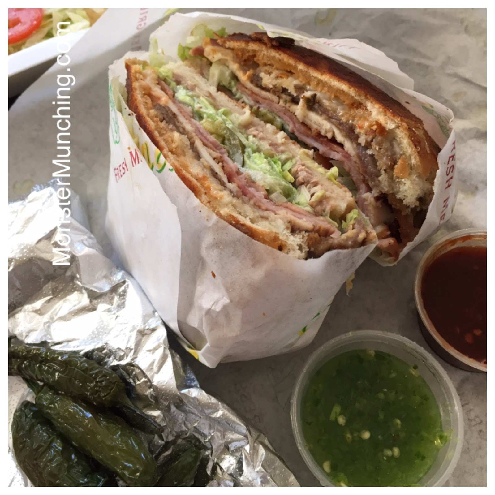Monster Munching: Torta Cubana at Cancun Juice - Santa Ana