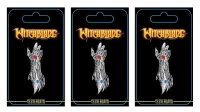 San Diego Comic-Con 2018 Exclusive Witchblade Enamel Pin by Yesterdays x Top Cow x Image Comics