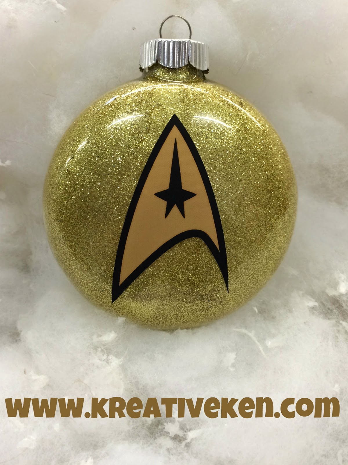 Star Trek Ornaments Ken S Kreations
