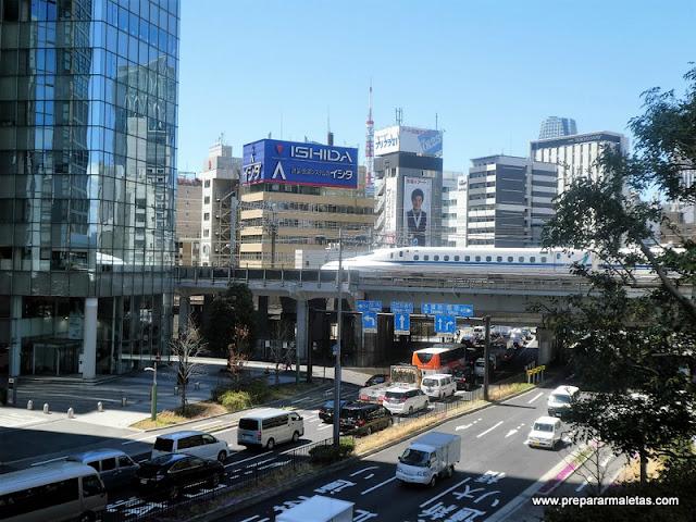 estación de Shimbashi en Tokio
