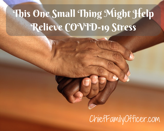 Create a mantra to alleviate COVID-19 stress
