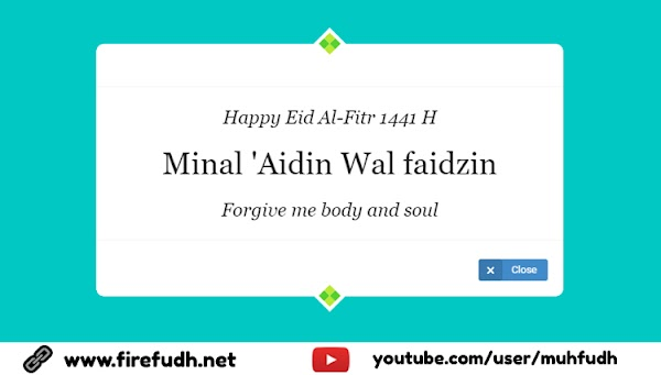 CSS Happy Eid Mubarak