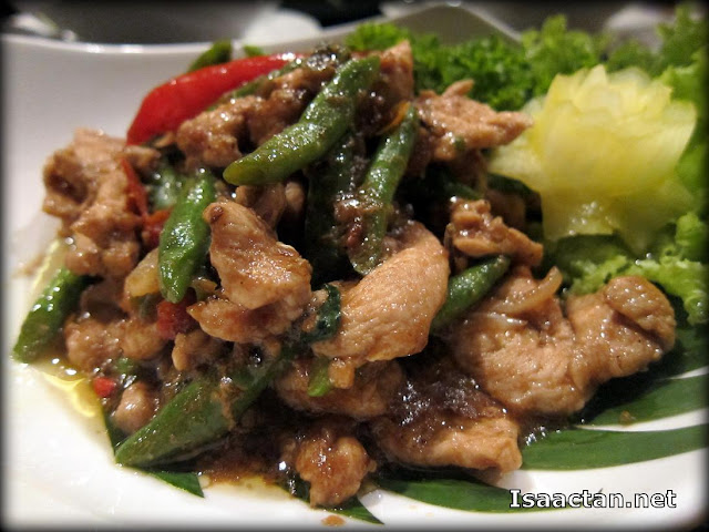 Stir Fried Turkey with Thai Basil - RM25