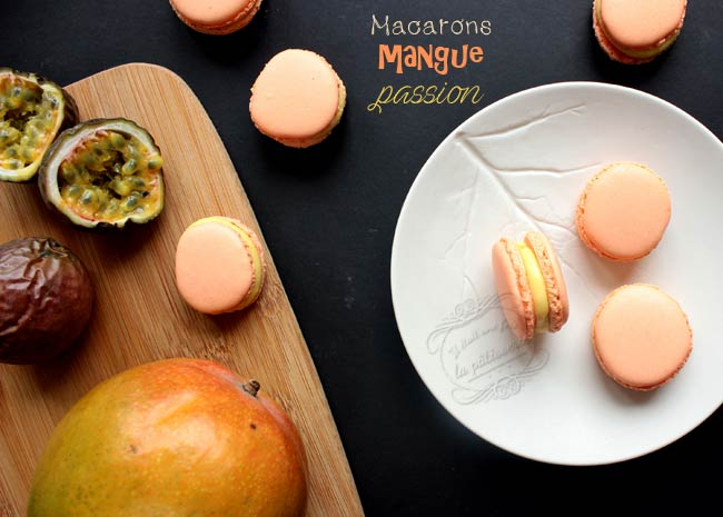 macaron mangue passion