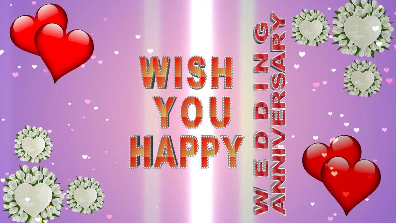 Anniversary Greeting Wishes Love