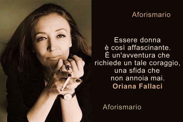 Aforismario Aforismi Frasi E Citazioni Di Oriana Fallaci