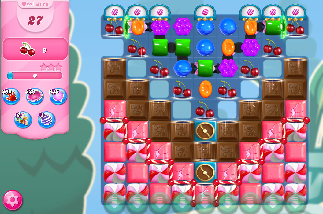 Candy Crush Saga level 8176
