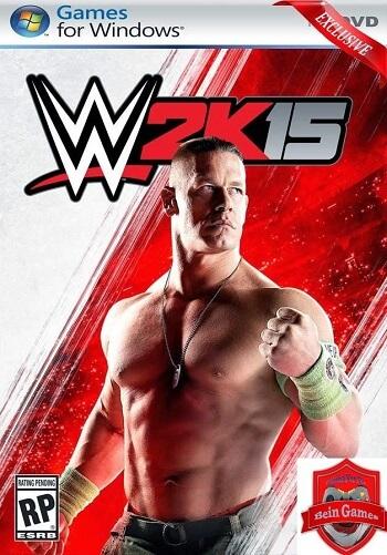 اللعبة العالمية الشهيره WWE 2K15 بأخر التحديثات ( نسخة Impact )