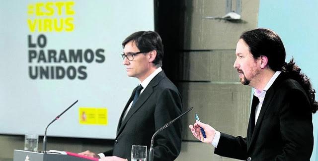 Una senadora del PP difunde un bulo sobre una denuncia contra Iglesias, Simón e Illa