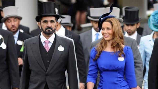Dubai ruler's wife in UK 'in fear of her life'