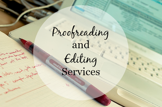 Editing services toronto