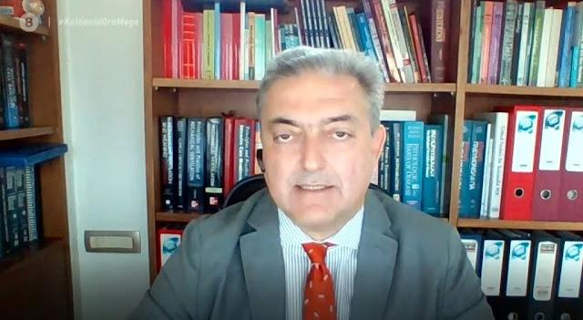 """Βασιλακόπουλος: """"Η πανδημία έχει τρελαίνει τον κόσμο - Με απειλούν ότι θα με βρουν στα χαντάκια…"""" (βίντεο)"""