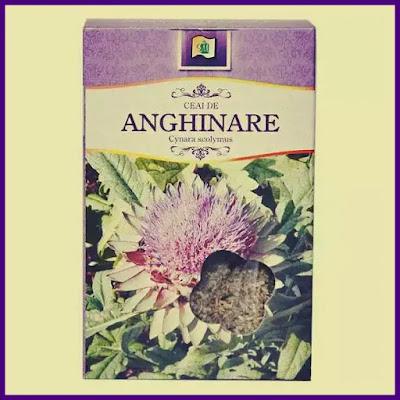 ceai de anghinare mod de preparere beneficii si contraindicatii
