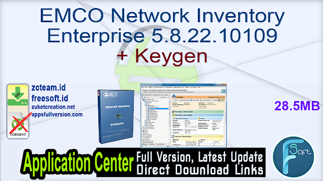 EMCO Network Inventory Enterprise 5.8.22.10109 + Keygen