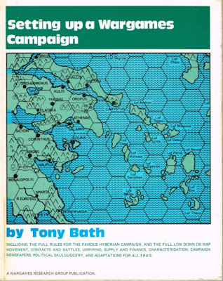 Setting Up A Wargames Campaign by Tony Bath  (1973)