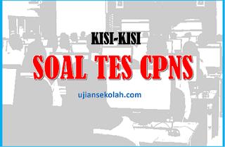 materi uji SKD CPNS 2019