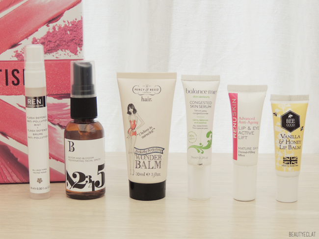 lookfantastic beauty box revue avis test