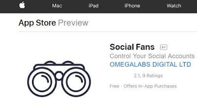 Social Fans app