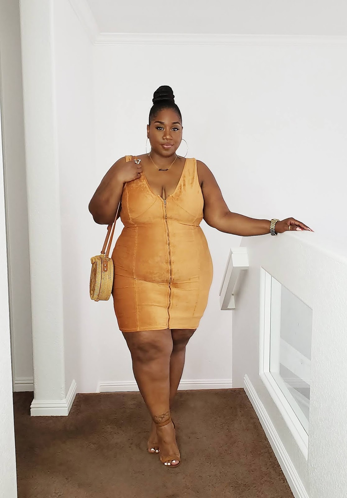 Plus size Corduroy Dress