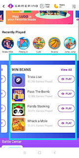 Paytm play games and win beans,win beans,Paytm play games and win beans
