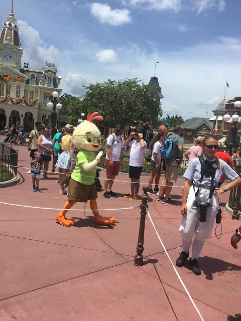 Chicken Little Disney World Character