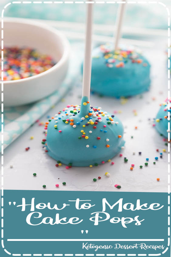 An easy tutorial for making cake pops with sprinkles How to Make Cake Pops