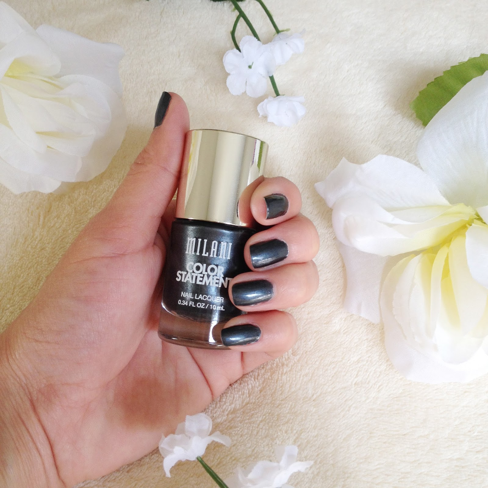 Milani Charcoal Charm - Gray Shimmer | LynSire: Cruelty-Free Life