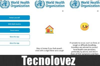 Who MyHealth - Applicazione ufficiale dell'OMS sul coronavirus