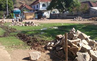 Salah Lokasi, Dinas Alihkan Obyek Timbunan Lapangan Jatiwangi ke Lahan Milik Pemkot Bima