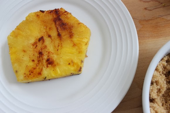 How to make grilled pineapple