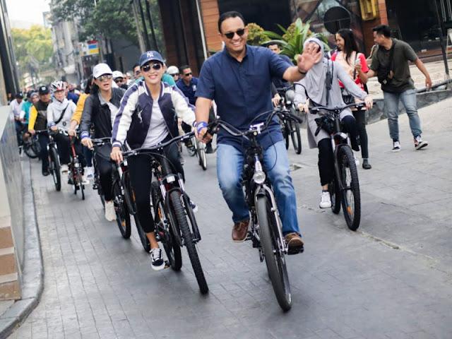 Komunitas Sepeda Fastana Cycling Club Uji Jalur Khusus Sepeda Fase Dua