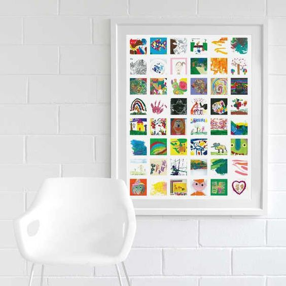 Yuk! Menghargai Gambar Karya Anak Anda Dengan Memajangnya