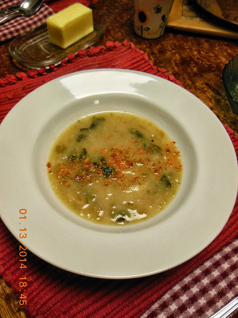 Creamy Celery and Potato Chowder