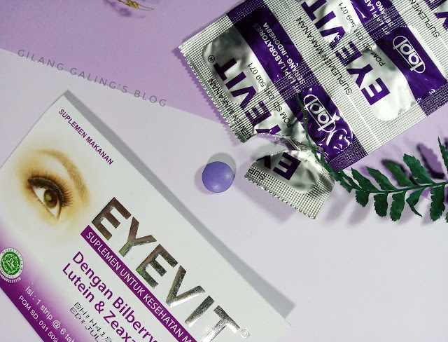 Kegunaan Eyevit Tablet untuk Menyehatkan Mata