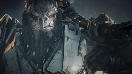 Halo Wars 2 brute leader Atriox