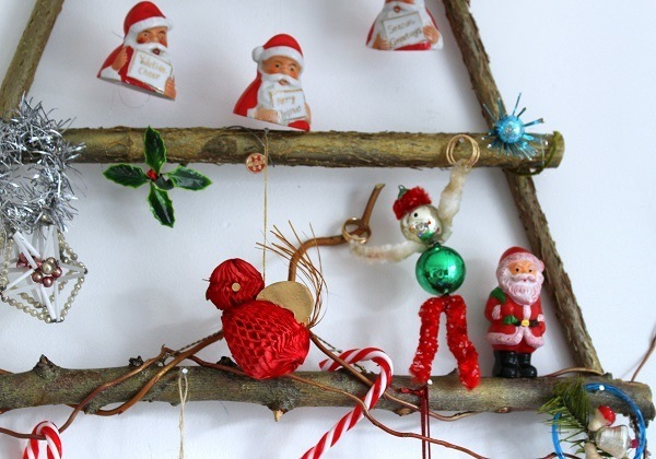 old christmas tree decorations