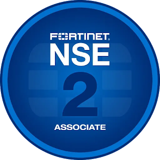 Fortinet's Network Security Expert Digital Badge