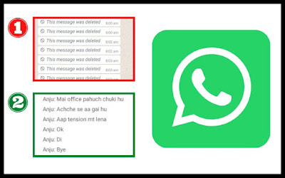 How to read Whatsapp's Delete Message?