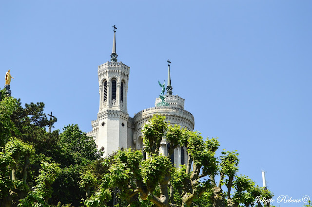 Cathédrale de Fourvière à Lyon