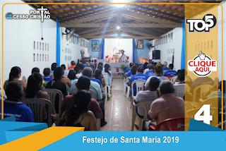Confira a 8° Noite do Festejo de Santa Maria na Comunidade Flor do Dia em Coroatá - Portal Acesso Cristão de Coroatá, MA