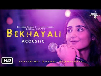 Bekhayali female Dhvani Bhanushali Version