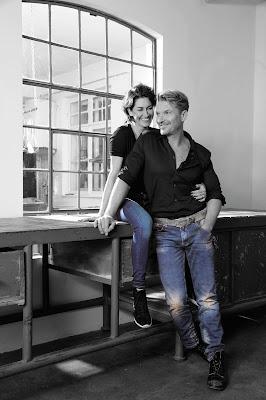 Hardy Krüger und Frau Alice. Projekt für Kinder