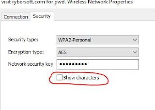 passwords encrypted WiFi