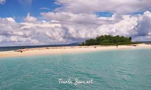 Pulau badul salah satu objek wisata indah di Taman nasional ujung kulon banten