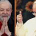 """Em carta a Lula, papa pede para ex-presidente """"não desanimar e continuar confiando em Deus"""""""